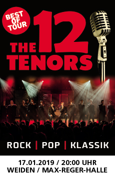 OberpfalzMedien_Banner_The 12 Tenors_2019_230x360px_4c.qxp_Layou